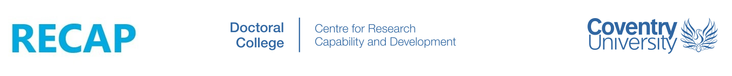 Doctoral College and Centre for Research Capability and Development